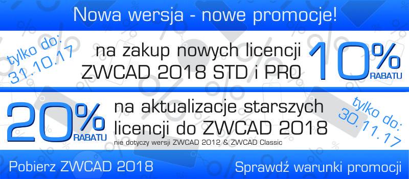 Promocja ZWCAD 2018