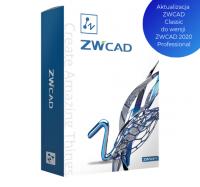 Akutalizacja ZWCAD Classic do ZWCAD P2020 Professional